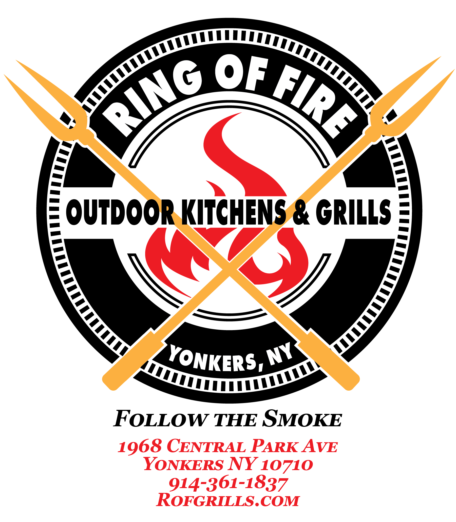 Ring of Fire Outdoor Kitchens & Grills logo